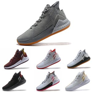 Adidas cool DERRICK ROSE'S D ROSE 9 pour les chaussures de basketball pour hommes All Star Basketball Sneakers Taille 7-11.5 taille US5.5-11