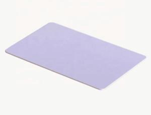 Haciendo tamaño de la tarjeta de crédito ID blanco plástico PVC blanco
