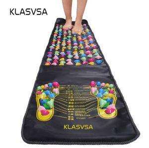 KLASVSA Массаж ног ног Массаж для облегчения боли Камень Массажер Мат Прогулка Мышечный стимулятор Матрас для здоровья Главная Релаксация Здравоохранение