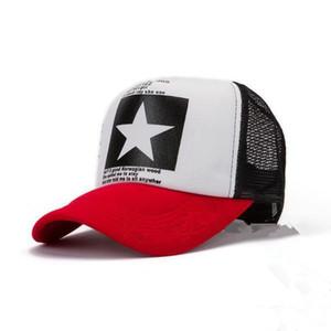 Mode Stern Marke Baseballmütze Outdoor Baseball Hut Atmungsaktive Männer Frauen Sommer Mesh Cap Papa Hüte Gorras Casquette