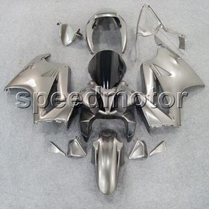renkler + HONDA VFR800 2002 için hediyeler gümüş motosiklet kukuletası Fairing 2012 2012 VFR 800 02 03 04 05 06 07 08 09 10 11 12 ABS plastik seti