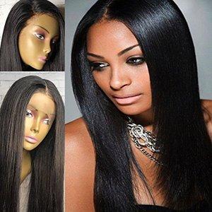 Человеческие парики волос 360 Lace Фронтальной парик шелковистого прямые 180% Плотность 360 Парик Pre щипковые 360 парика шнурка высокой Ponytail Updo