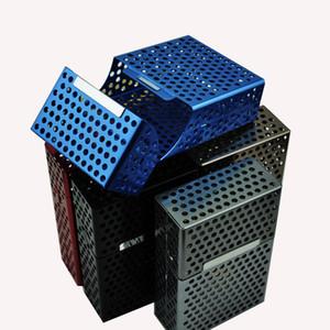 담배 케이스 할로우 알루미늄 케이스 담배 케이스 박스 홀더 연기가 나는 연삭기 DHL Free WX9-358