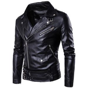Europeo uomo moda boutique punk uomo pelle Carrie pelle Harley giacca M - 5 xl D101 locomotiva coltiva la sua moralità