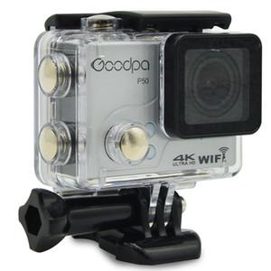 굿파 P50 울트라 HD 4k 30fps 2.7k 30fps 스포츠 카메라 방수 와이파이 원격 제어 제한 모션 DV 32G SD 카드 선물