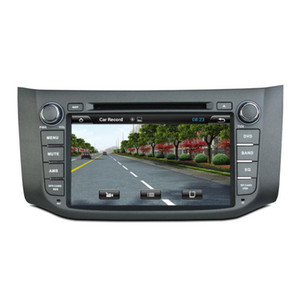 Leitor de DVD Carro para NISSAN SYLPHY B17 Sentra 8 polegadas Andriod 6.0 com GPS, controle de volante, Bluetooth, rádio, 2 GB de RAM