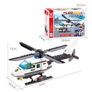 102 adet Uçak Uçak Modeli Yapı Taşları Kitleri Düzlem Uçak DIY Eğitim Bulmaca Oyuncaklar Hediyeler Çocuk Çocuk