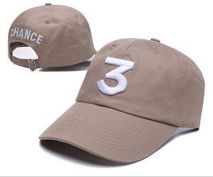 Новый Бейсбольная кепка Chance The Rapper 3 Dad Hat Регулируемый черный