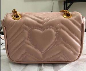 2018 donne designer di moda borse in pelle PU catene borse a tracolla borse a tracolla bagaglio croce corpo borsa hobos 22x14x7 cm