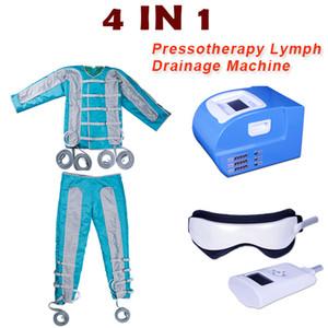 직업적인 pressotherapy 림프 배수 장치 눈 안마 체중 감소 먼 적외선 pressotherapy 기계 EMS 패드는 근육을 이완합니다