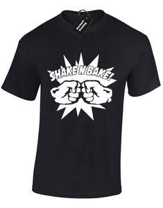 Shake N Bake Camiseta para hombre Diseño divertido Step Brothers Will Ferrell Top S - 3xlcool Orgullo informal Camiseta Hombre Unisex Nueva moda