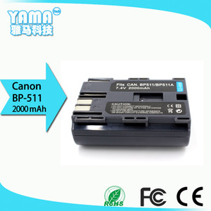 manufacturers directly sell Digital Camera Battery for Canon Bp-511 Bp-511A Bp 511 512 OEM