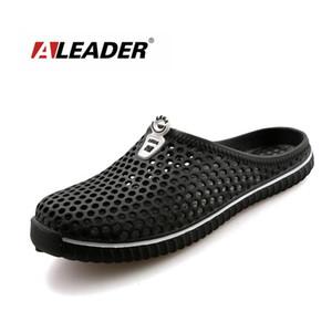 Aleader Verão Mulheres Deslizamento em Sapatos de Jardim Croc Tamancos Eva Praia Mulheres Sandálias Leve Unisex Chinelos de Praia Sandálias tamanho grande