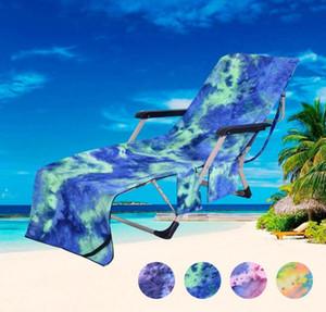 Beach Chair Serviette Coussin Microfibre Fibre Sunbath Lounger Lit Mate Beach Chaise Serviette Coussin Avec Organisateurs De Poche