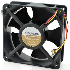 For all new genuine authentic 12038 axial flow chassis cooling fan KD1212PMBX-6A 12V 7.6W