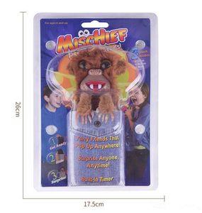 2018 Sneekums Pet Pranksters Jitterers Fur Plastic Brown Pet Sneekums Jitterers Fur Plastic Brown Pet Prankster Funny Toys Prank