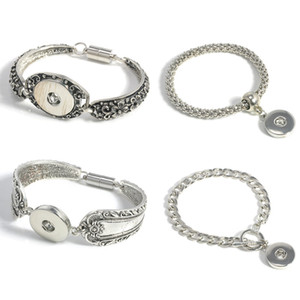 Noosa Snap Button Bracelets Broche magnético Noosa Chunks Snap Bracelet Fit 18 MM Button Intercambiable Snap Button Button Jewelry