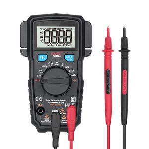 ADM66 True RMS Digitalmultimeter TRMS Mini 6000 DMM Dual Slot Kapazität Ohm Hz Temp NCV Diodentaschenprüfgerät