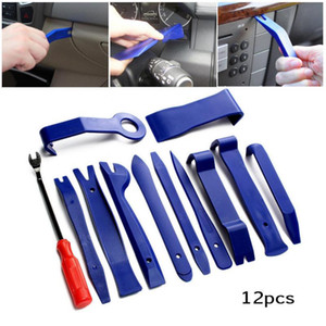 New 12pcs  set Universal Car Audio Prying Plate Screwdriver Combination Repair Removal Kit