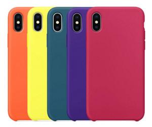 Гибрид геля Rubber Liquid силиконовый чехол Hot Protect офиса Обложка для iPhone i11 Pro Mas XS XR 6S 6 7 8 Plus для Apple телефон с розничной коробкой