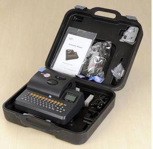 Máquina de rotulagem do marcador do fio da impressora da identificação da impressora S-650ECable do tubo do PVC