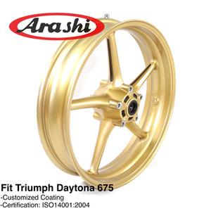Arashi Vorderradfelge für Triumph Daytona 675 2006 - 2012 Motorradzubehör CNC Aluminium 2007 2008 2009 2010 2011 675R R Street Triple