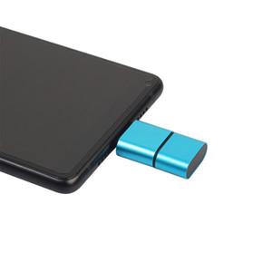 OTG Type C to USB 2.0 Micro SD TF Card Reader Adapter for Android Phone Smart Memory Adapter for ملحقات الكمبيوتر المحمول
