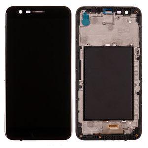 LCD Display Digitizer Assembly für LG K10 2017 K20 PLUS X400 M250N mit Rahmen Ersatzteile schwarz