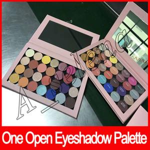 2018 neueste eine offene Lidschatten-Palette leer große Pro-Palette 28 Farben 28 einzelne Schatten schimmern matt und satin Schatten
