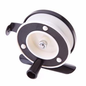 5 CM de Alta Qualidade Leve Portátil Mini Pólo Linha Carretel De Pesca Hastes Mar Gelo Voar Camarão Linha De Pesca Roda Esquerda / Direita