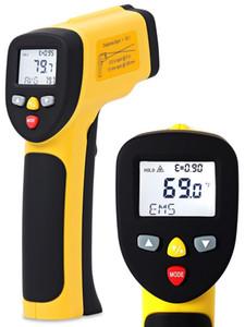 درجة الحرارة بندقية ennoLogic ثنائي ليزر غير الاتصال بالأشعة تحت الحمراء ميزان الحرارة NIST الخيار متاح - دقيق الرقمية سطح IR ميزان الحرارة
