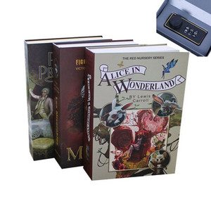 Dizionario Mini Safe Box Book Money Hidden Secret Security Blocco di sicurezza Cash Money Coin Storage Gioielli Key Locker per regalo Kid