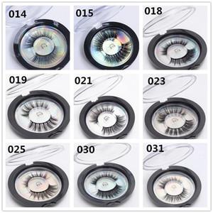 50 stücke 18 styles 3D Falsche Wimpern 3D Silk Protein Lashes Weiche Natürliche Dicke Gefälschte Wimpern Wimpernverlängerung Make-Up X079