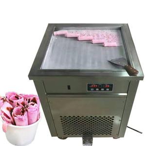 Beijamei Square Сковорода 110v 220v Электрическая жареная рулет с мороженым Йогурт Ролл машина Жареная машина мороженого