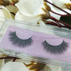Seashine kostenloser Versand benutzerdefinierte Private Label Pacakging 3D falsche Nerz Wimpern natürlich aussehende dauerhafte Wimpernverlängerung Hersteller