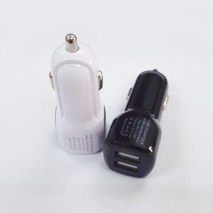 العلامة التجارية الجديدة شاحن USB مزدوج الإضافية 3.1a سيارة 5V 2.1A 5V1A المسؤول منفذ مزدوج قفص الاتهام بسرعة شحن محول لفون 7 8 X سامسونج S8 زائد