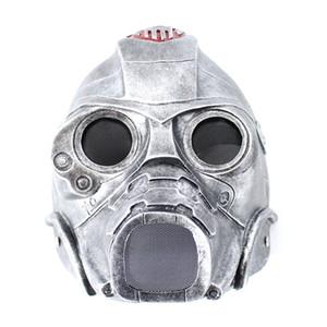 1 Stücke hochwertigen Harz Geist Helm Maske Biohazard Charakter Cosplay Schutzgasmaske Halloween Horror Rollenspiel