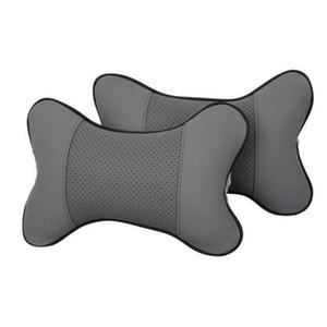 Almohada para el cuello del coche Auto Seat Head Neck Rest Cojín del reposacabezas del coche Asiento de la almohada apoya accesorios interiores Pad para Ford Kia Rio BMW