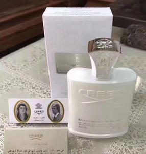 2018 hot comprar Famoso perfume sólido Creed sliver água da montanha para homens colônia 120 ml com longa duração tempo bom cheiro livre