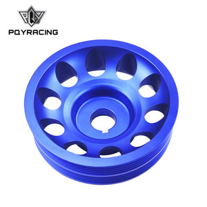 PQY - Light Weight Aluminum Crankshaft Crank Pulley for Subaru Impreza WRX Sti PQY-CP013