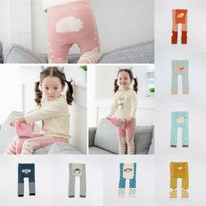 Neonate Cotton Leggings Autunno Big Cute Cartoon PP Pantaloni Bambini Animal Design Collant Calze per bambini