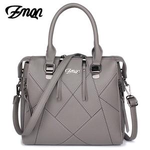 Zmqn Kadın Çanta Ünlü Markaların Lüks Çanta Kadın Çanta Tasarımcısı Bayanlar Pu Deri Dikiş Crossbody Çanta Bolsas