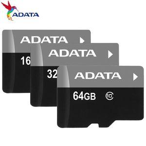 pacote de varejo ADATA 256GB 128GB 64GB 32GB Classe 10 TF cartão de memória flash C10 + adaptador SD 2018 Top 10 Best Seller