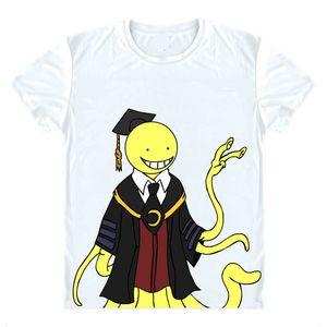 Assassination Classroom Ansatsu Kyoushitsu T-Shirts Short Shirts Korosensei Octopus Grim Reaper Demon King Shirt Tee-Style333-NO03