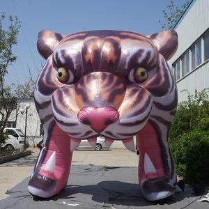 4M Decorativo Mostrar Tigre Artificial Tiger Inflatable Tiger Tiger Tunnel