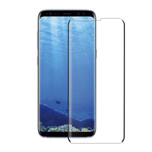 New Tempered Glass Full Glue 3D Curved Case Friendly Case Film Gorilla Protective Film for Samsung S8
