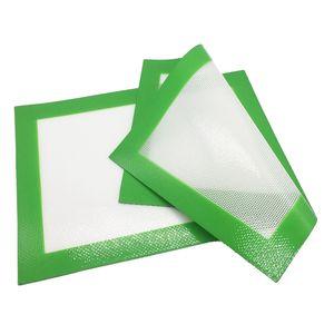 الأخضر مرنة سيليكون حصير الكمال خبز لصنع ملفات تعريف الارتباط المعكرات المعجنات 2 قطعة / الوحدة