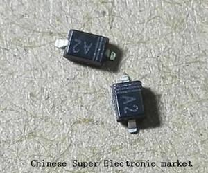 100pcs hale A2 1N4148 SMD 0805 Anahtarlama Diyot 1N4148WS 0805 (SOD323)