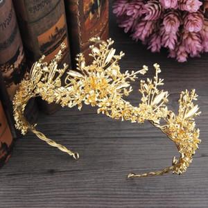 I più venduti Fascinators da sposa con strass Testa di cristallo Fasce per capelli da sposa Diademi Corone Accessori per capelli da sposa