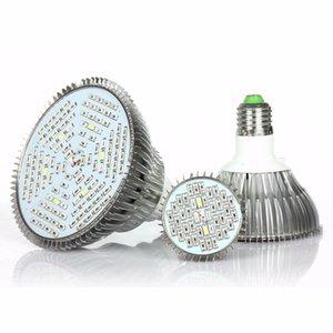 la croissance des plantes d'éclairage LED lampe usine spectre complet 80W PAR38 grandir lampe lampe de croissance des plantes d'intérieur conduit